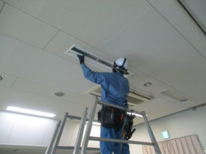 LED照明設備工事